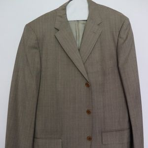 Ermenegildo Zegna Tan Suit Jacket (42 R)